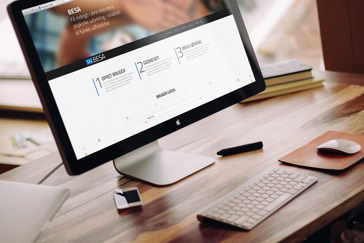 Velfærdsteknologisk Hjemmeside