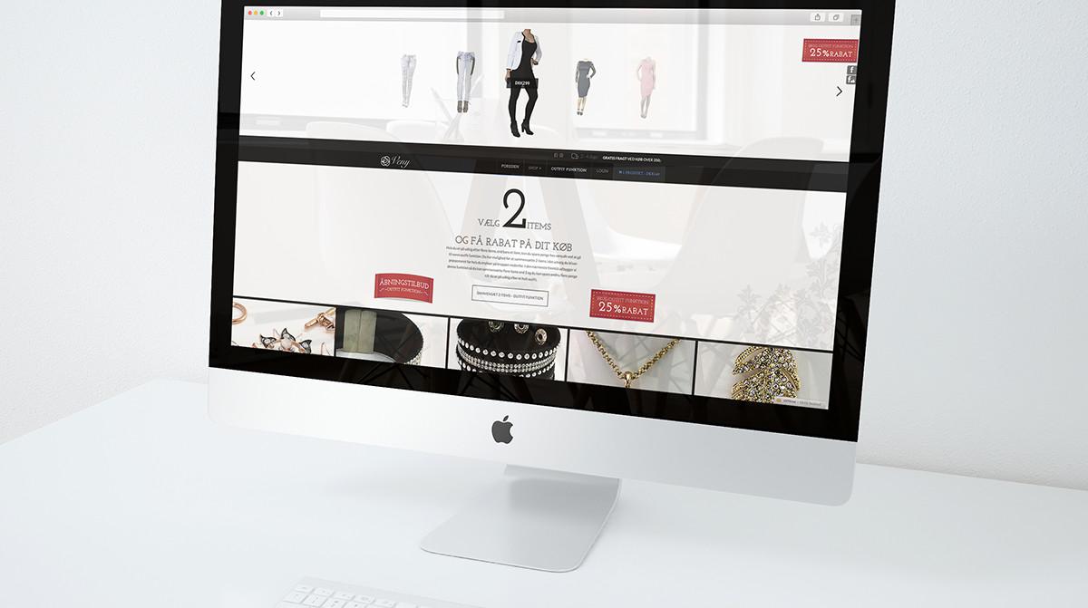 Veny webshop & grafik