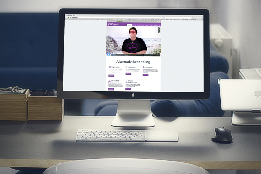 Klinik Baungaard hjemmeside design
