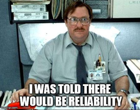 reliability meme