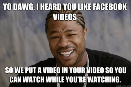 facebook video meme