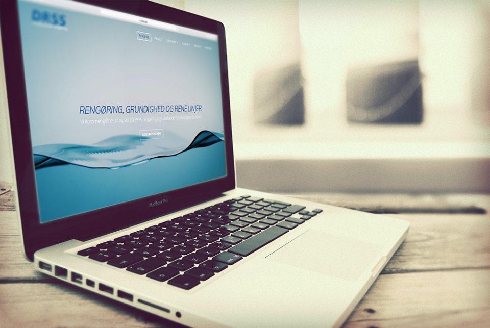 DRSS hjemmeside overflytning