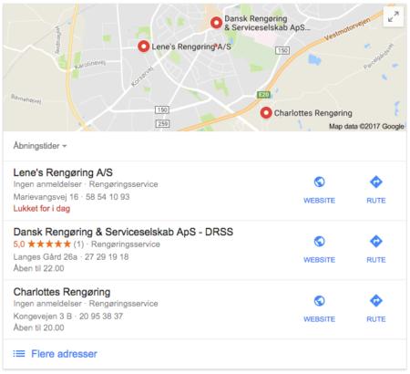lokal søgemaskineoptimering