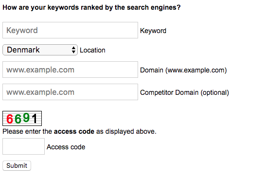SEOCentro Keyword Rank Checker