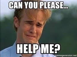 Help me, please