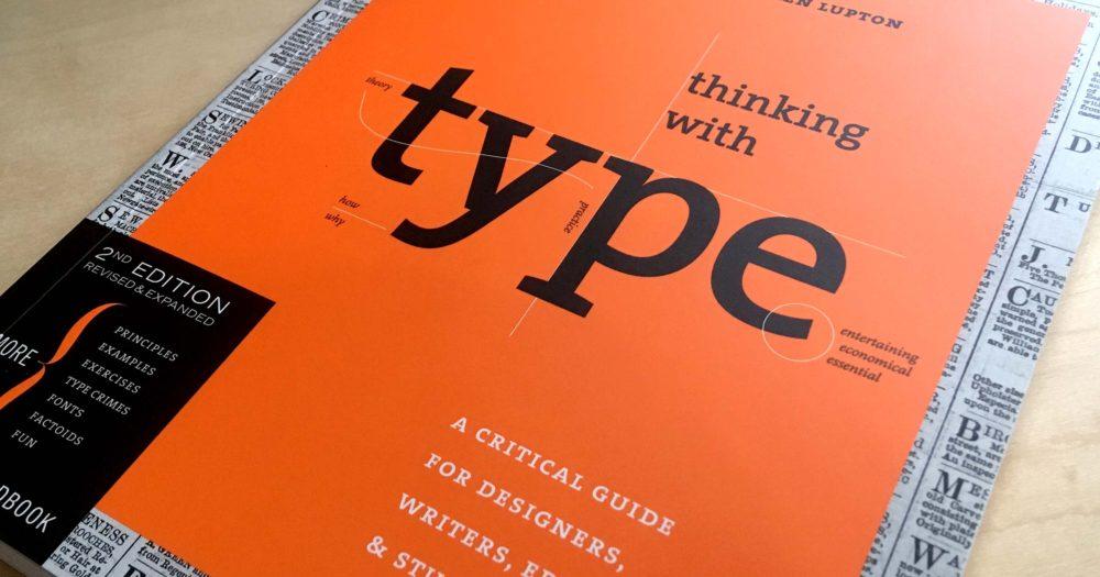 thinking with type bog