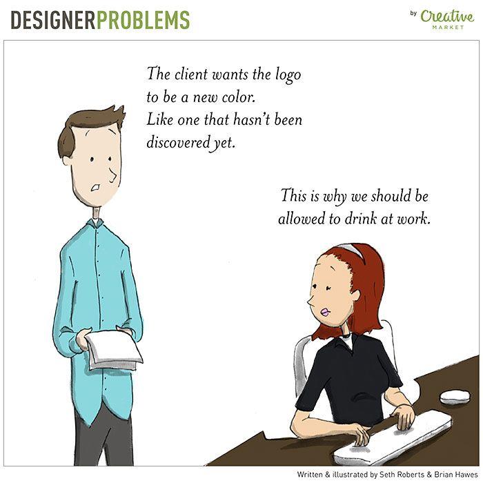 Designer problemer
