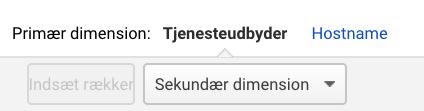 Hostname i Google Analytics