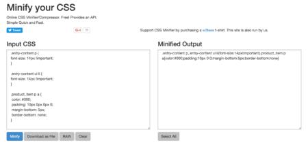 Screendumb scripts reducering