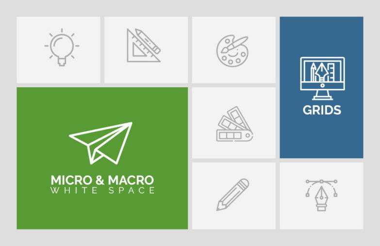 micro og macro white space
