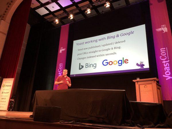 yoastcon 2019 live indeksering google bing
