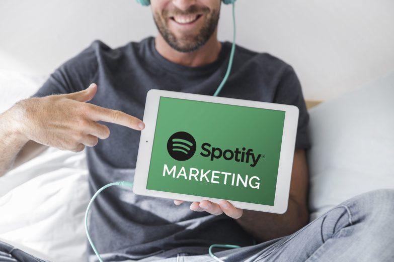 spotify marketing annoncer på spotify som virksomhed