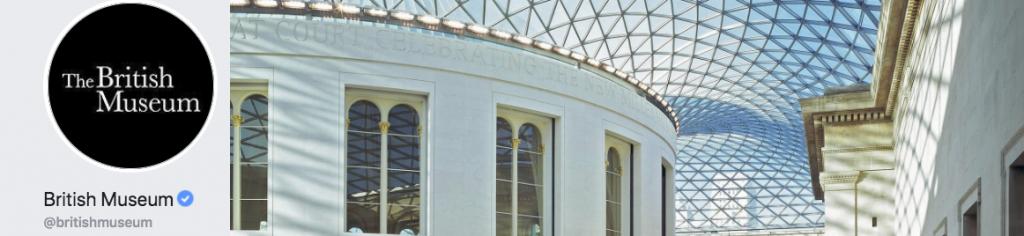British Museum social logo