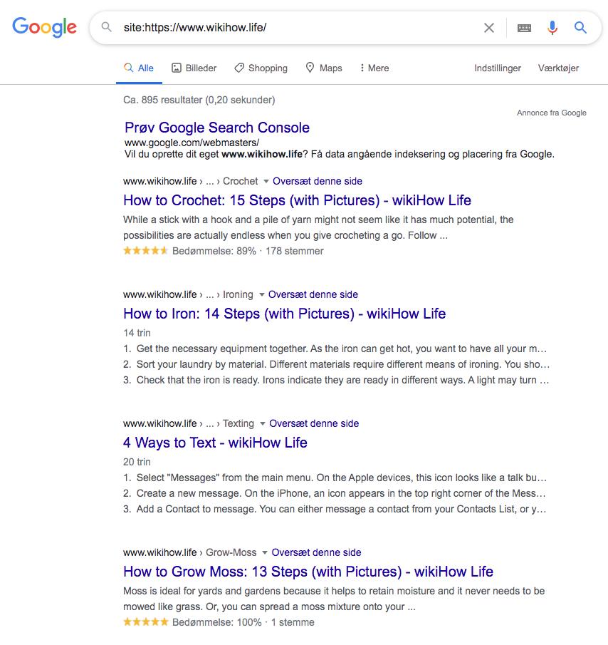how-to struktureret data i søgeresultaterne desktop