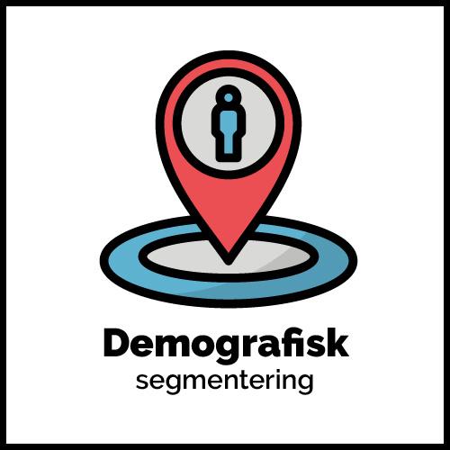 demografisk segmentering grafik