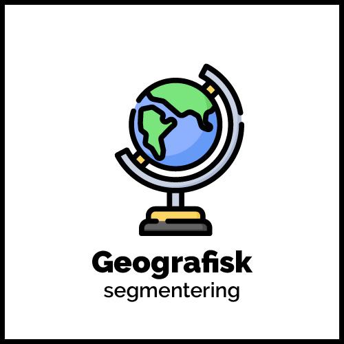 Geografisk segmentering grafik